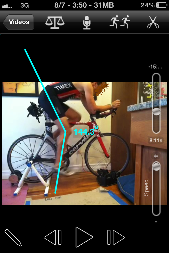 Cycling Video Analysis And Sports Coaching Mobile App For Iphone And Ipad With Slow